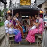 Tváre Indočíny: Barmské nádenníčky na thajskom pohraničí