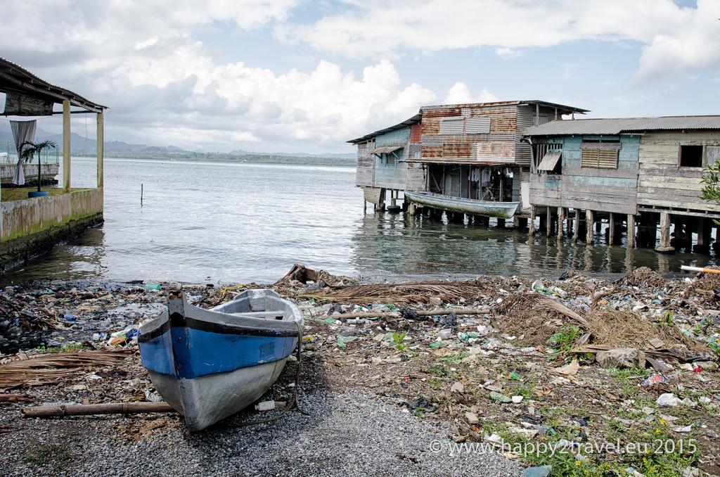 Guatemalský Karibik neďaleko honduraskej hranice