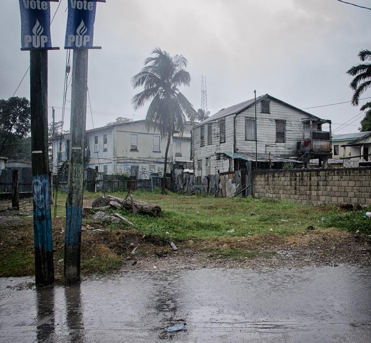 Belize City je jeden veľký smutný slum
