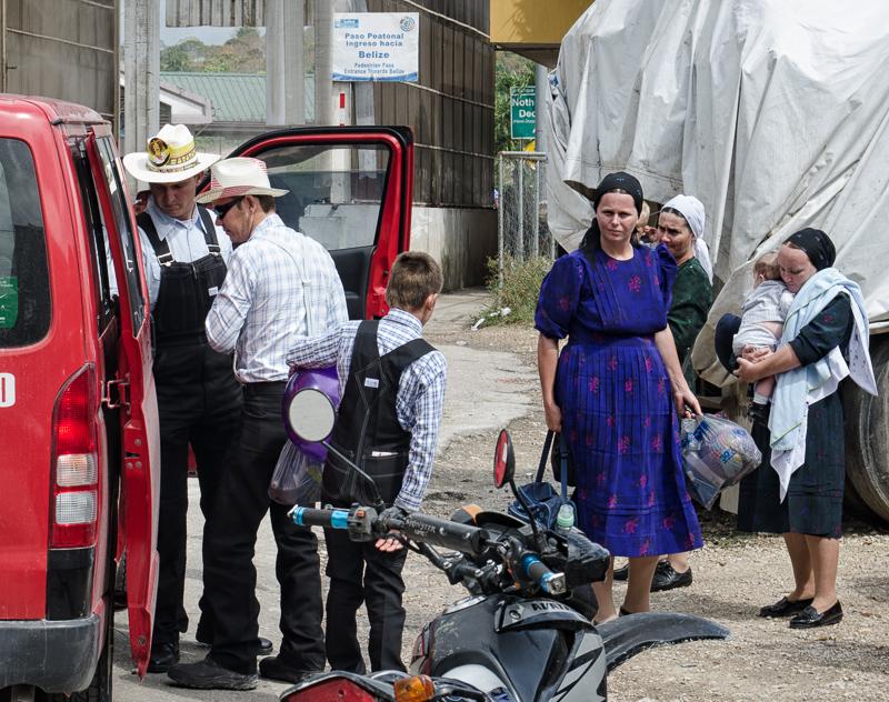 Belizskí Amišovia si vyšli na výlet do Guatemaly