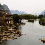 Yangshuo – južná Čína