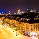 Varšava dňom i nocou – momentky