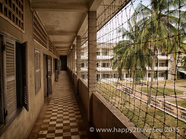 Tajné väzenie Tuol Sleng bola pôvodne stredná škola
