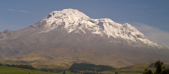 Vulkán Chimborazo, Riobamba, Ekvádor