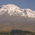 Riobamba a vulkán Chimborazo