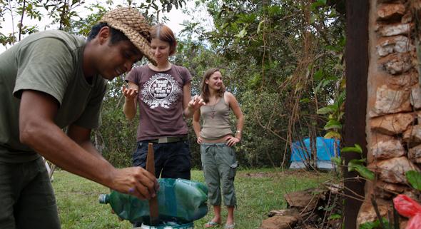 El Paují, Venezuela - pomáhame Odbertovi