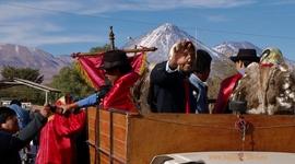 Festival andských kmeňov na púšti Atacama