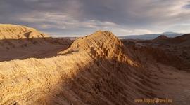 V púšti pred zotmením