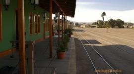 Koľajnice do Bolívie: mesto Calama