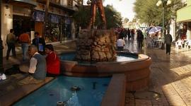 Banícke mesto Calama, pomník baníka hrdinu