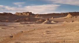 V púšti Atacama