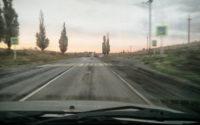 Cestou do Donecka z ruského Rostova