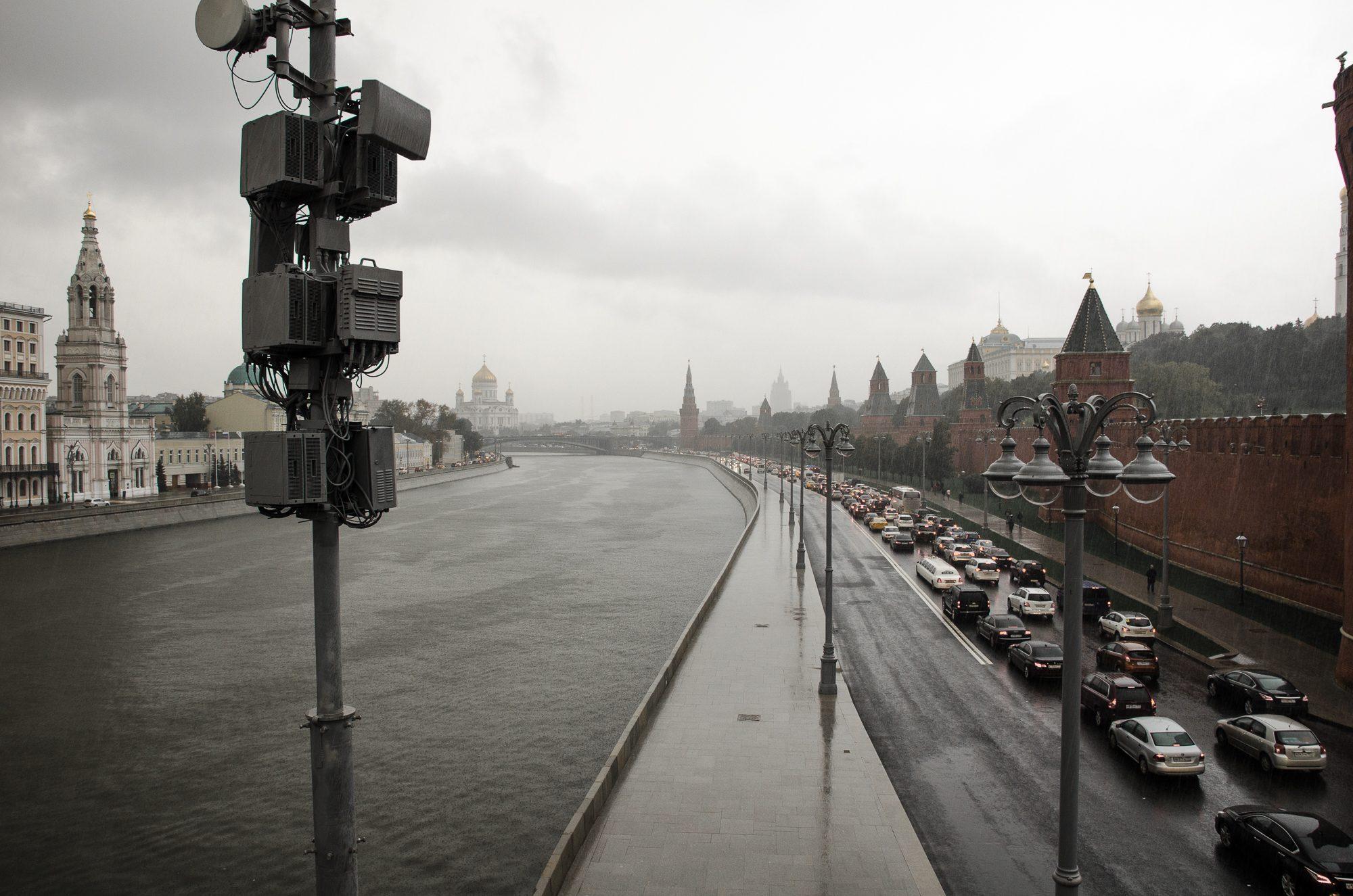 Večerná špička. Moskva, Rusko