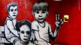 Pouličné grafiti brazílskych slumov