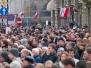 Po smolenskej nehode: v uliciach Varšavy