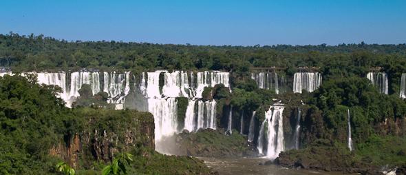 Vodopády Iguaçu, Brazília