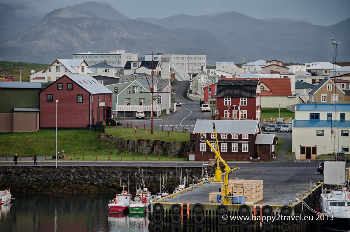 Reykjavík a západný Island