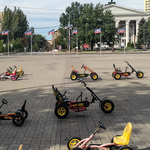 Prvé dni v Donecku