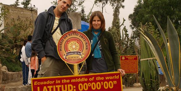 Quito a rovník, Ekvádor