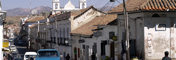 Mesto Sucre, Bolívia