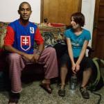 Roy a Justyna v Caracase, Venezuela