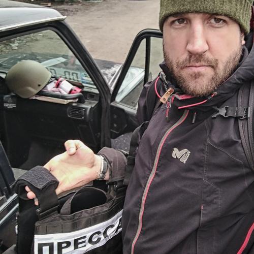 Portrét slovenského reportéra Tomáša Forróa