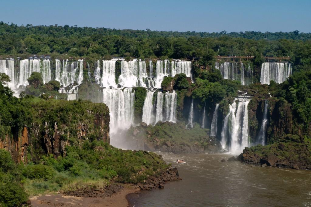 Vodopådy Iguaçu, Brazília - header