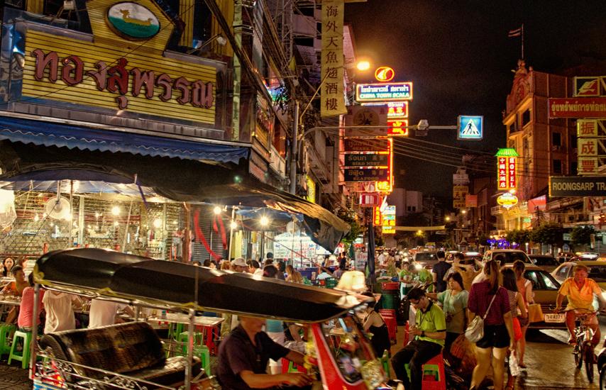 Bangkok - čínska štvrť (China Town)