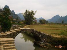 Okolie Yangshuo, to sú nádherné rieky a hory