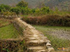 Juhočínsky vidiek: medzi ryžovými poľami