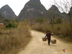 Tradičný život na čínskom vidieku