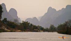 Krásne okolie mesta Yangshuo