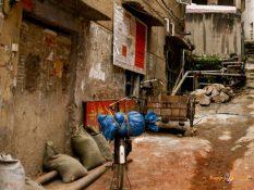 V uliciach mesta Yangshuo