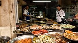Bangkok, mesto jedla