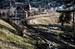 Vorochta je horské mestečko na úpätí ukrajinských Karpát