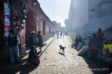 Zaspaté ráno v Chichicastenango
