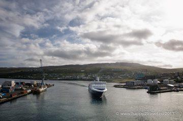 Prieplav do prístavu hlavného mesta Torshavn