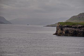 Prvé útesy Faerských ostrovov