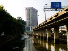 Mesto Guangzhou, juhovýchodná Čína