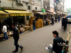 V uliciach Guangzhou, juhovýchodná Čína