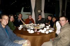 Stretnutie couchsurfing v Guangzhou, južná Čína