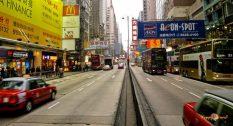 V uliciach Hong Kongu