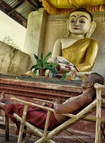 Budhistická siesta
