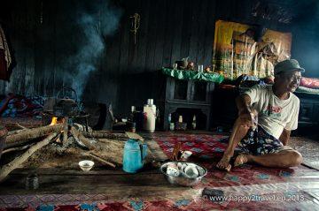 Príbytok domorodej dediny