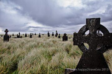 Ranokresťanský cintorín v dedinke Killeany