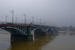 Most Księcia Józefa Poniatowskiego cez deň