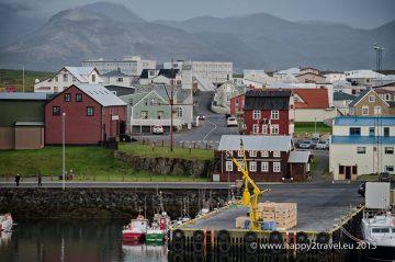 Pri ceste okolo Islandu sme natrafili na toto úžasné mestečko na západnom pobreží