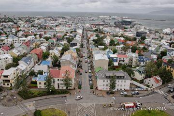 Pohľad na Reykjavík
