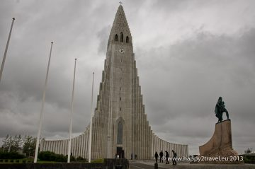 Luteránsky kostol Hallgrímskirkja, dominanta Reykjavíku