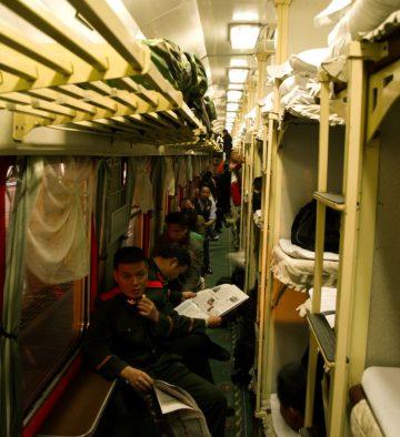 Nočným vlakom naprieč južnou Čínou